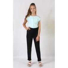 Штани для дівчинки DaNa-kids чорні (Арт. 57018ч)