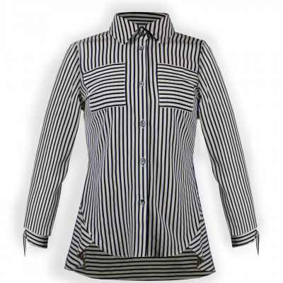 Блуза для дівчинки DaNa-kids смужка (Арт. БЗД-100год)