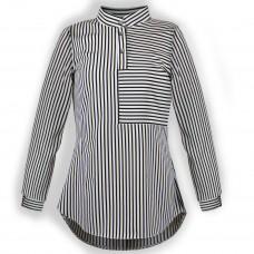 Блуза для дівчинки DaNa-kids смужка (Арт.БЗД-98ч)