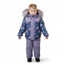 """Комплект для хлопчика зимовий DaNa-kids """"Bambino"""" (куртка + напівкомбінезон Арт. 55028)"""