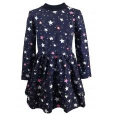 "Плаття для дівчинки ""Зірки"" синє (KidsCouture 7116171156)"