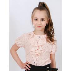 Блуза для дівчинки DaNa-kids персикова (Арт. БЗК-91п)